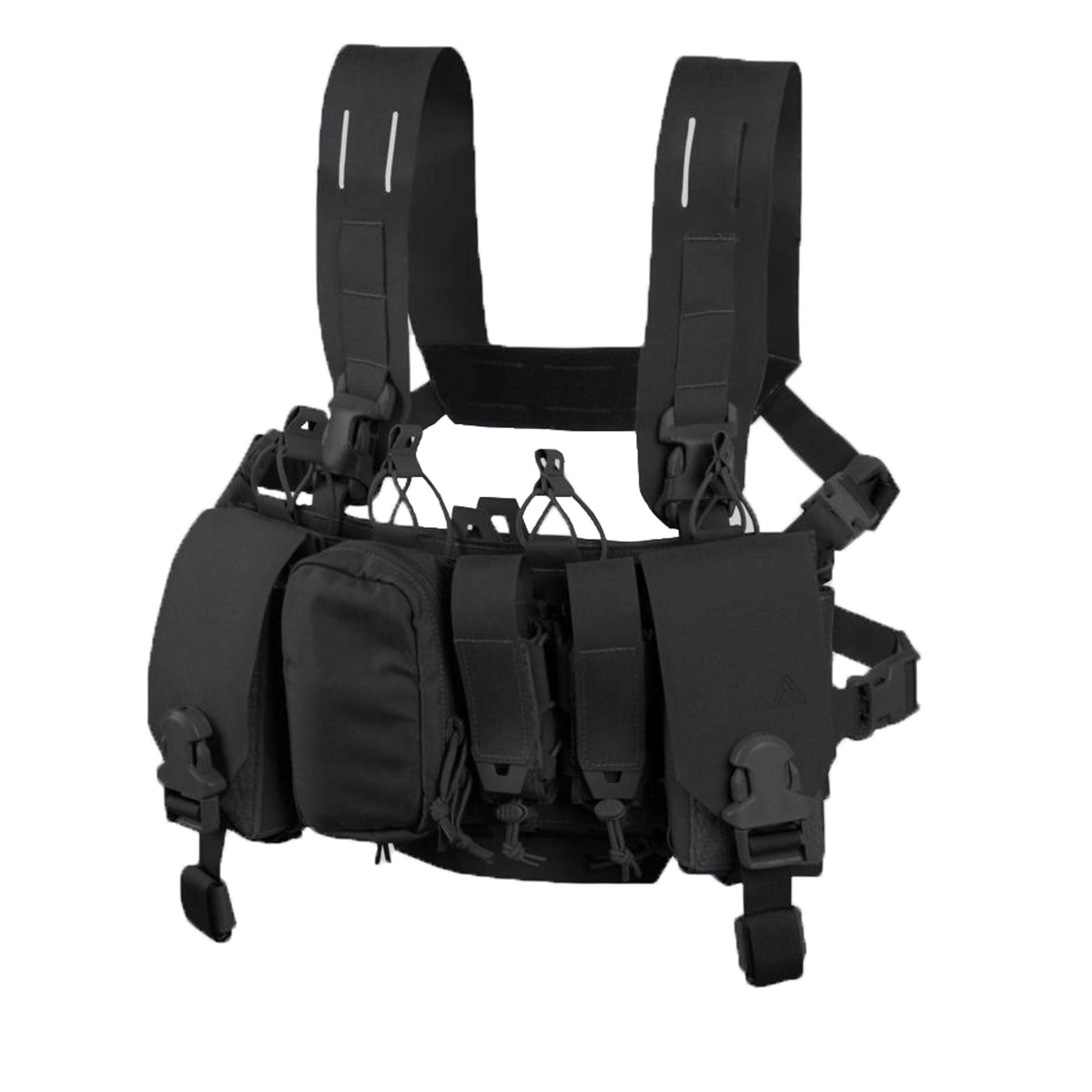 Direct Action Thunderbolt Compact Chest Rig - Cordura - Schwarz
