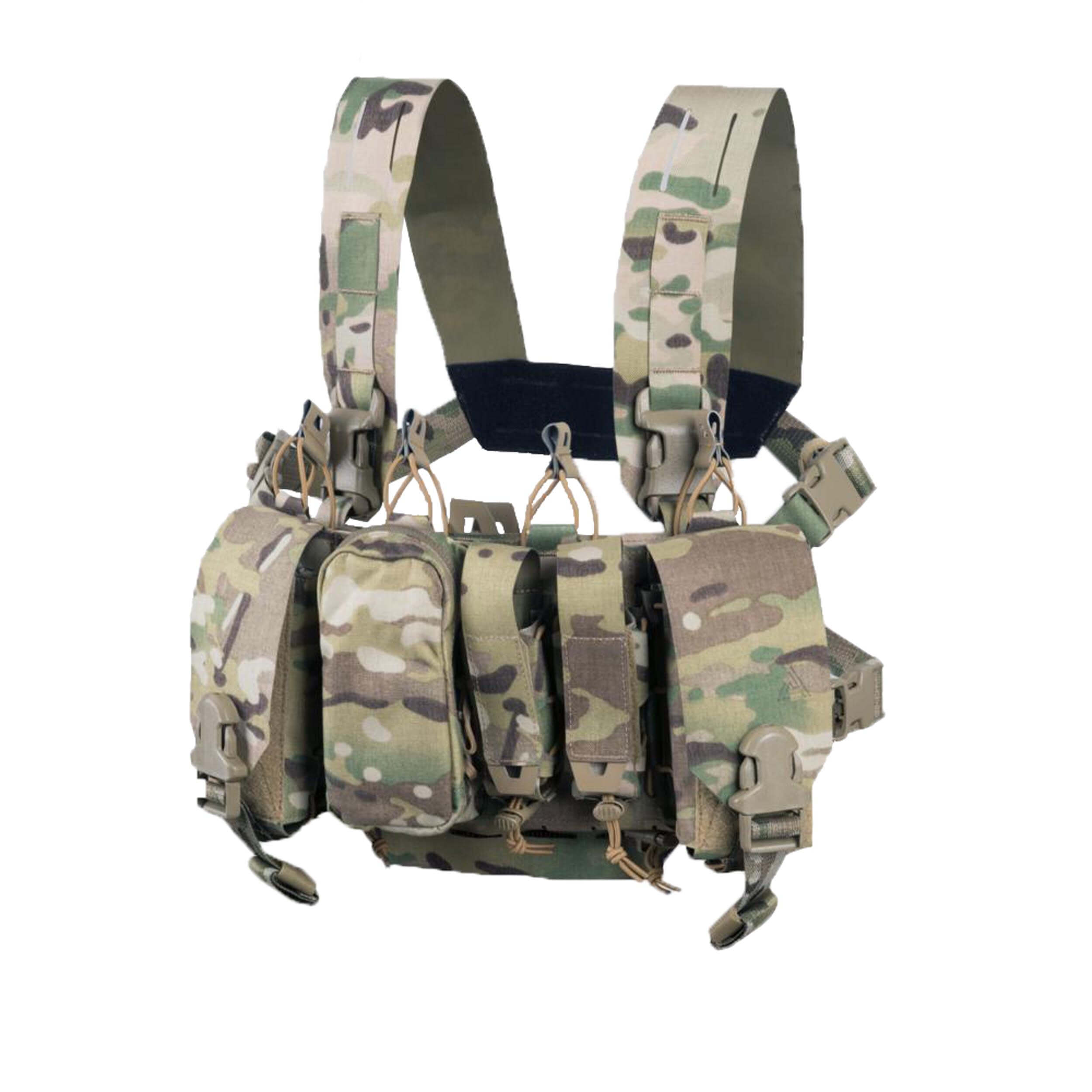Direct Action Thunderbolt Compact Chest Rig - Cordura - Multicam