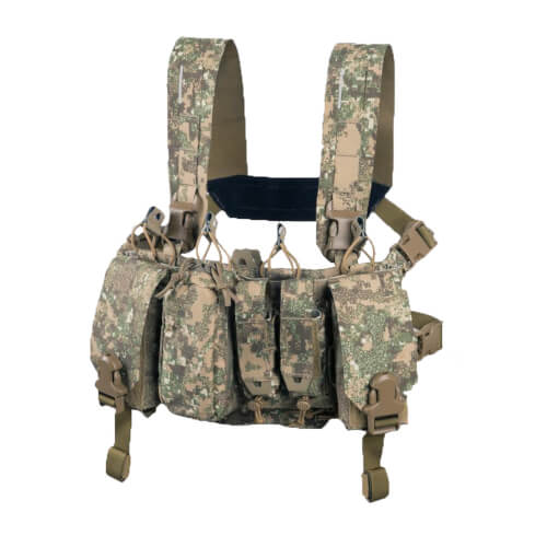 Direct Action Thunderbolt Compact Chest Rig - Cordura - PenCott Badlands