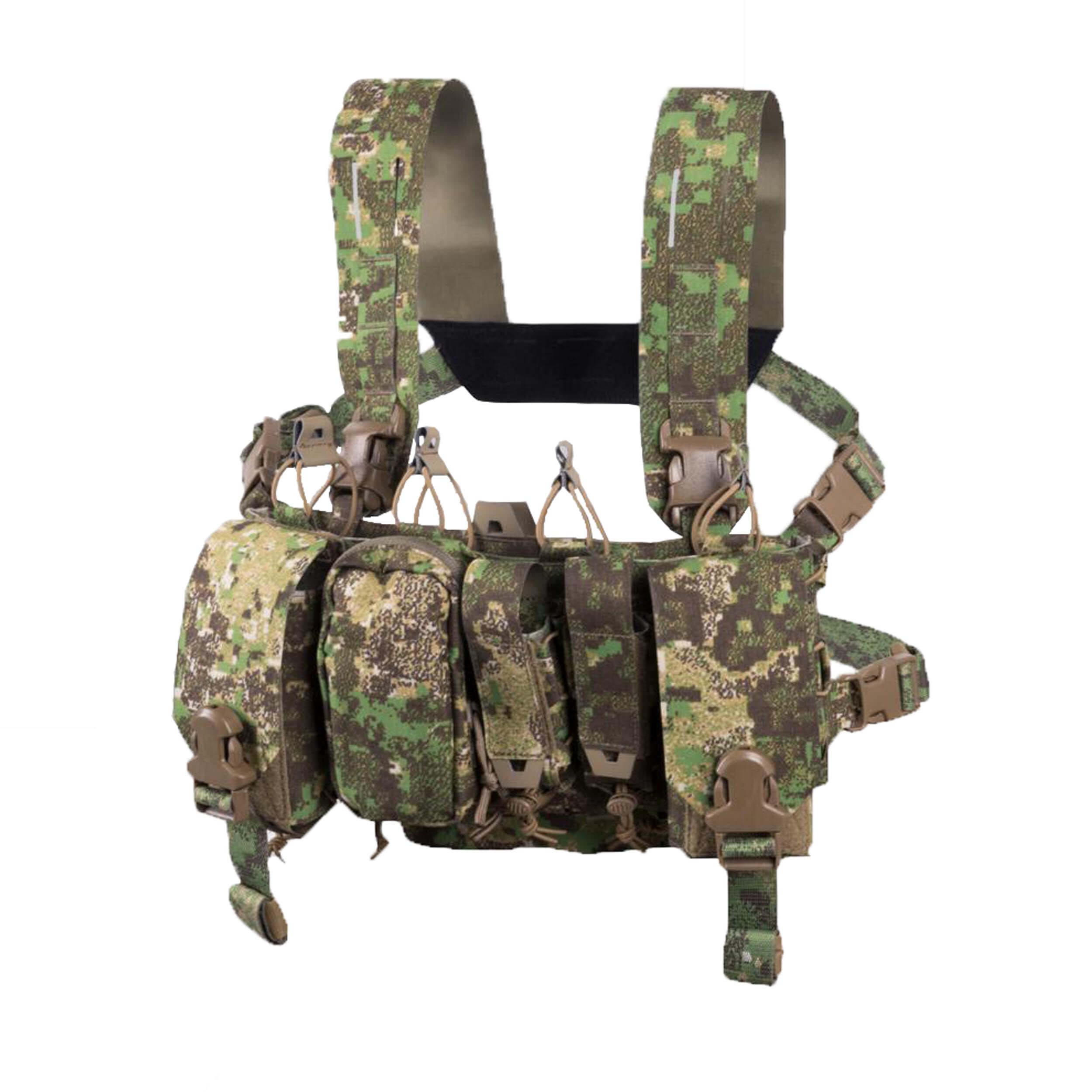 Direct Action Thunderbolt Compact Chest Rig - Cordura - PenCott Greenzone
