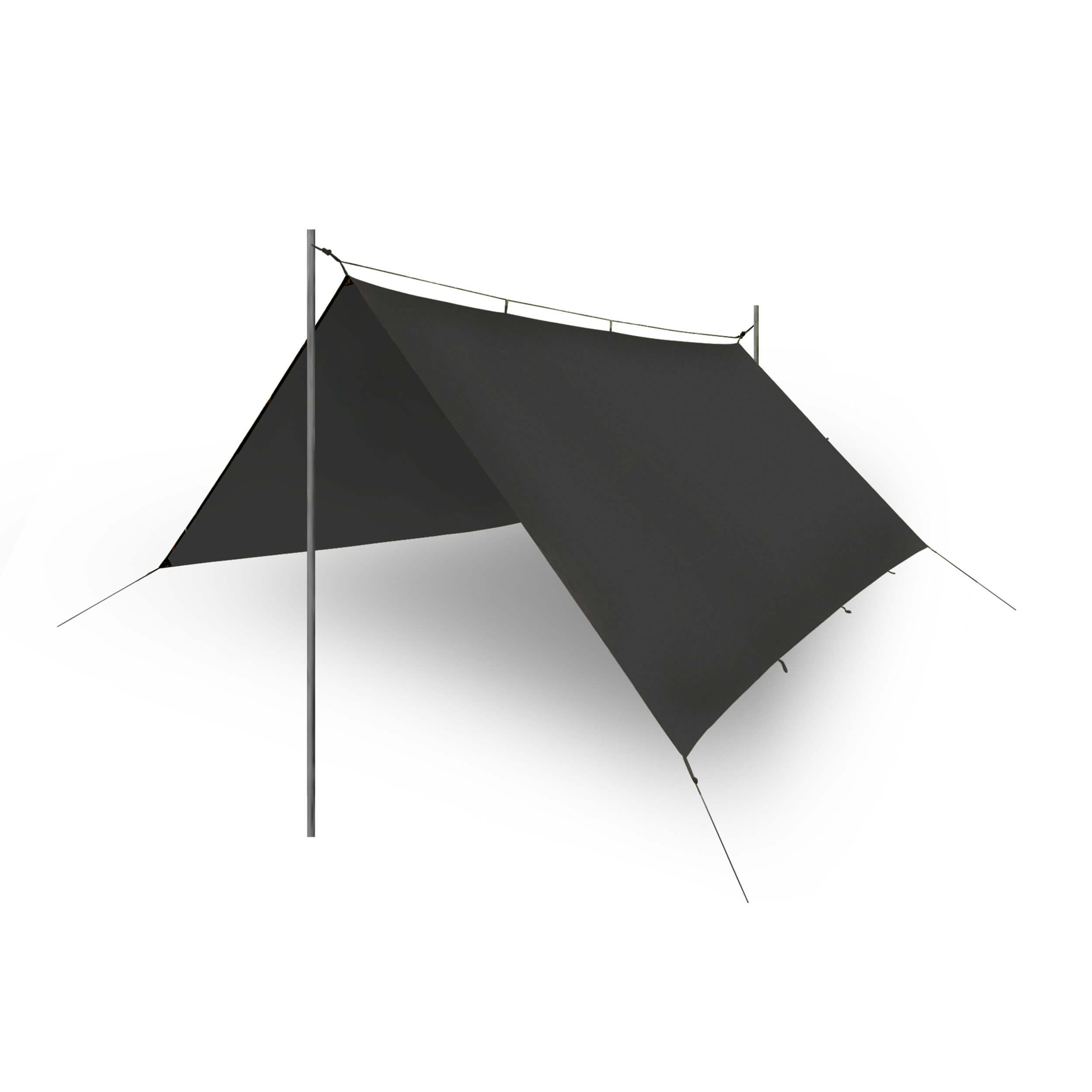 Helikon-Tex Supertarp -Polyester Ripstop- Schwarz