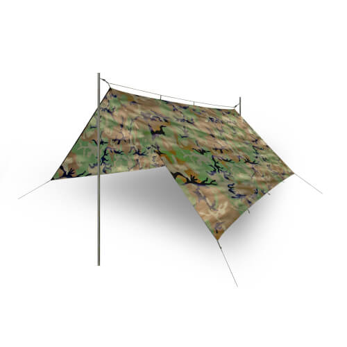 Helikon-Tex Supertarp -Polyester Ripstop- US Woodland
