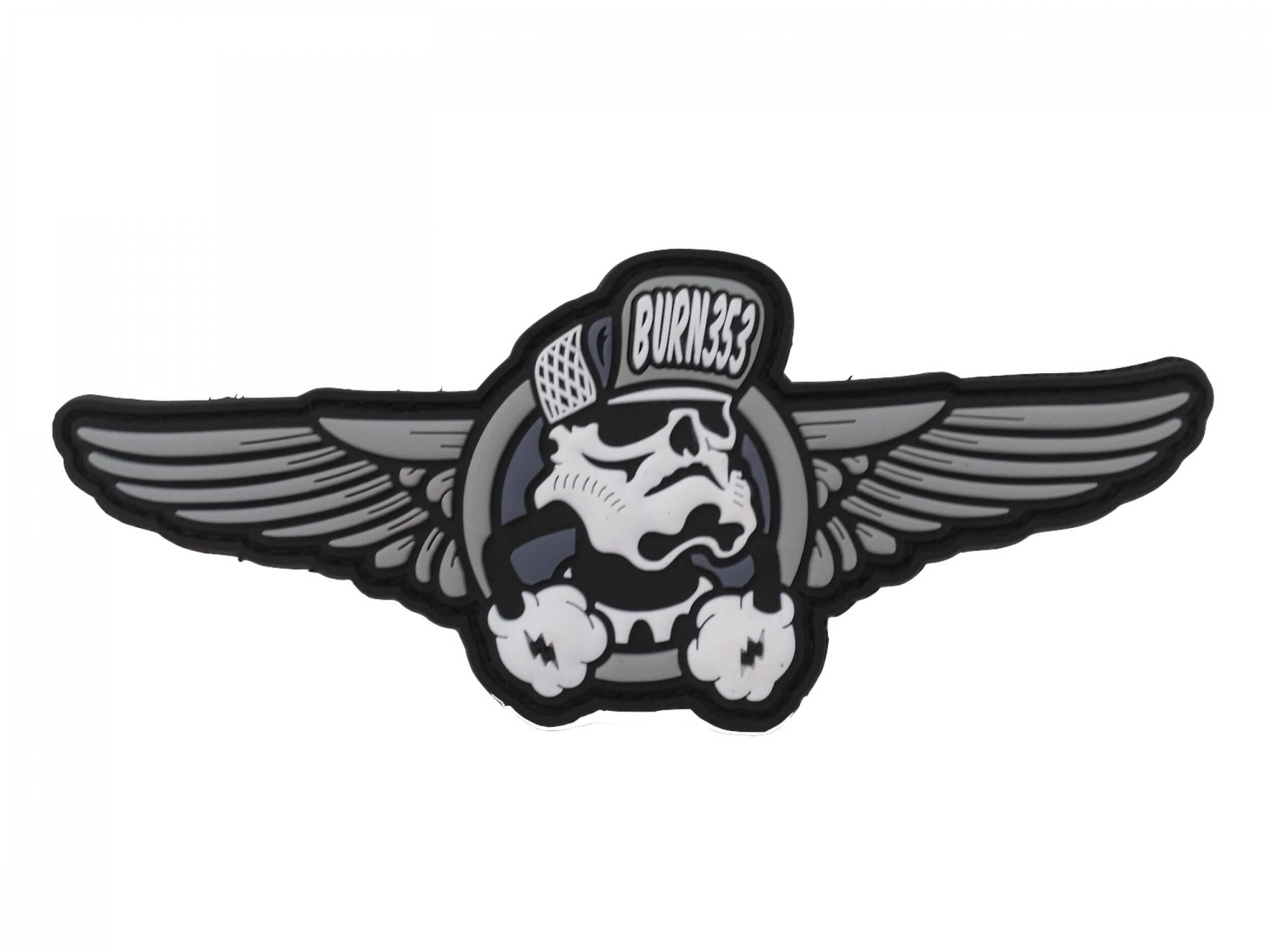 O.G. Skulltrooper PVC Patch BURN353