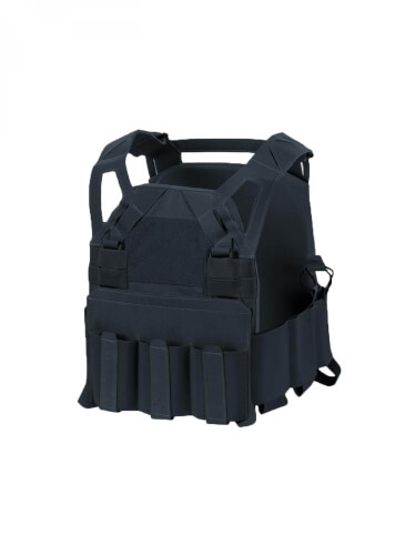 Direct Action HELLCAT LOW VIS PLATE CARRIER -Cordura- Schwarz