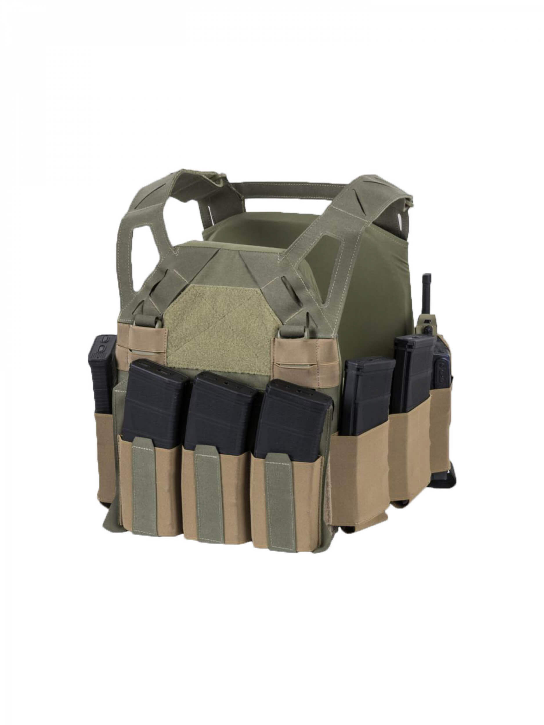 Direct Action HELLCAT LOW VIS PLATE CARRIER® -Cordura- Black