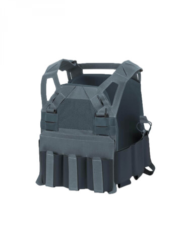 Direct Action HELLCAT LOW VIS PLATE CARRIER -Cordura- Urban Grey