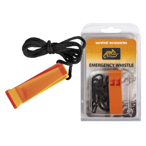 Helikon-Tex Emergency Whistle - Polypropylene - Orange