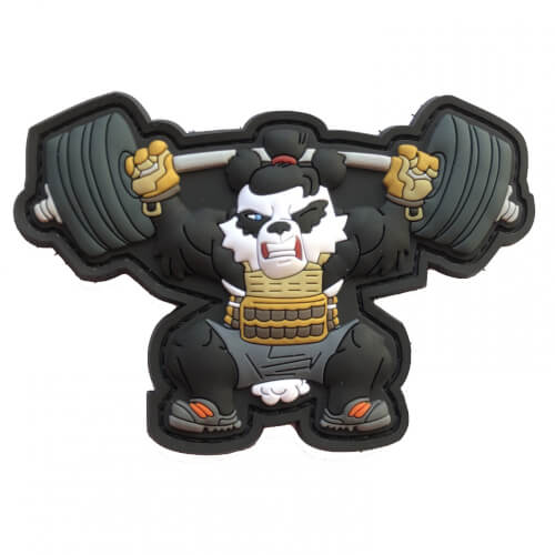 Crossfit Fitness Panda Weightlift Edition by HIWEZ