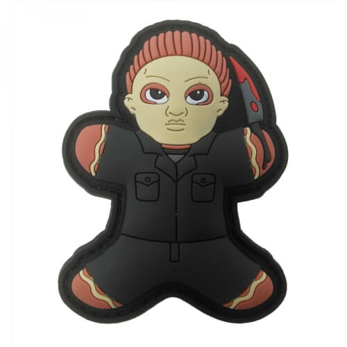 Gingerbread Lebkuchenmann Michael MASKE HELLOWEEN PATCH
