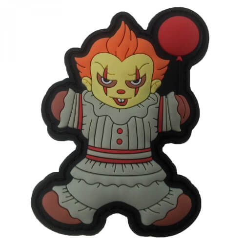 Gingerbread Lebkuchenmann Pennywise MASKE HELLOWEEN PATCH