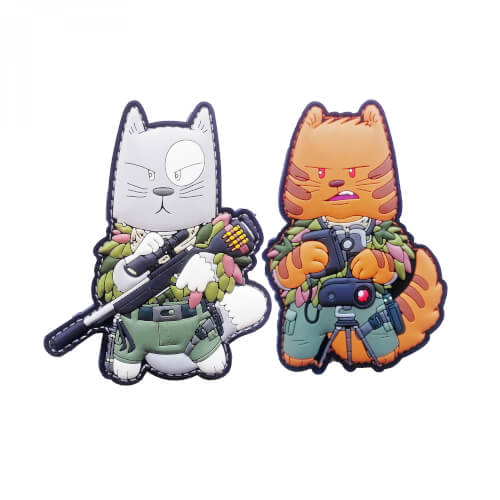 TACCAT Tactical Cat Squad Sniper Spotter Patch by HIWEZ