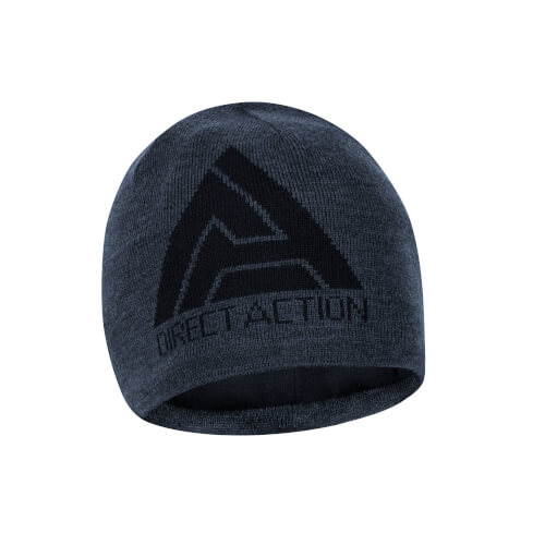 Direct Action Winter Beanie - Merinowolle - Shadow Grey
