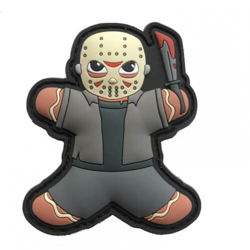 Gingerbread Lebkuchenmann Jason KILLER HORROR HELLOWEEN PATCH