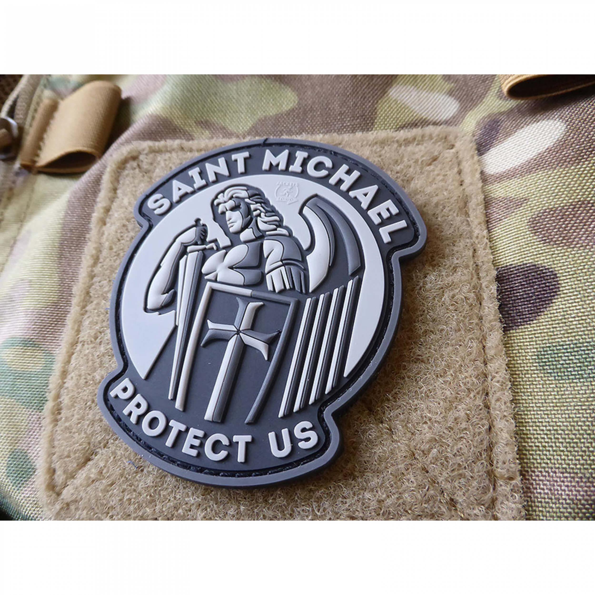 JTG SAINT MICHAEL PROTECT US Patch, blackops (gb)