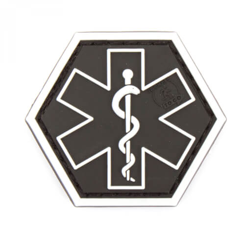 JTG PARAMEDIC, swat Hexagon Patch  (gb)