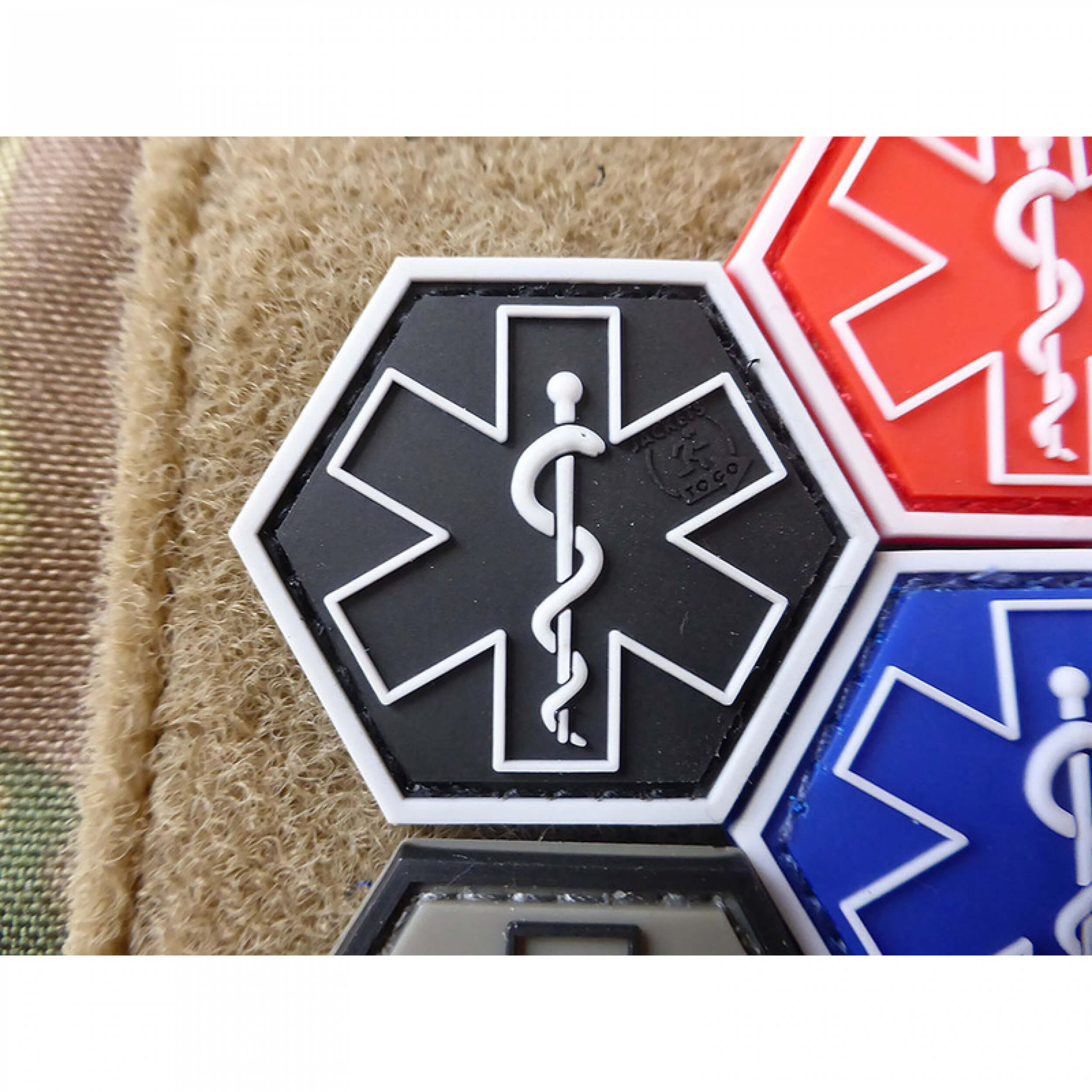 JTG PARAMEDIC, swat Hexagon Patch  (gb)