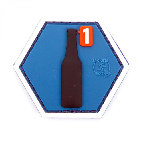MORALPATCHES by JTG BEER REQUEST Hexagon 3D Rubber Patch Airsoft Milsim