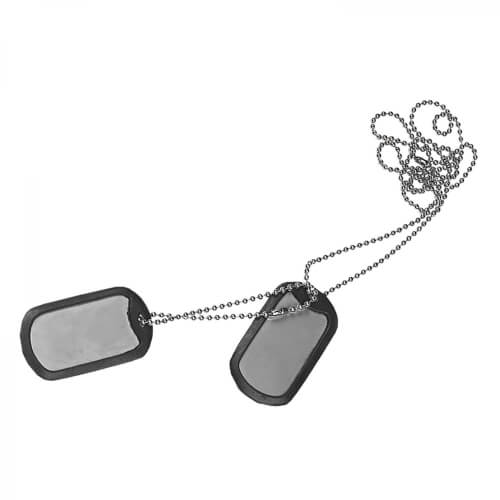 Helikon-Tex Dog-Tags - Stainless Steel