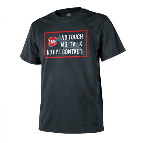 Helikon-Tex T-Shirt (K9 - No Touch) - Baumwolle - Schwarz
