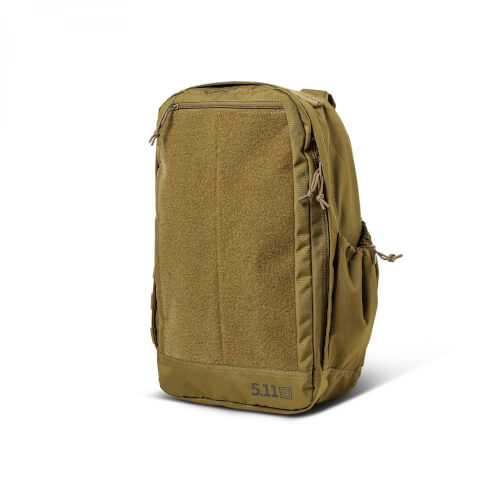 5.11 Tactical MORALE PACK 20L RUCKSACK PATCHES - KANGAROO (Braun)