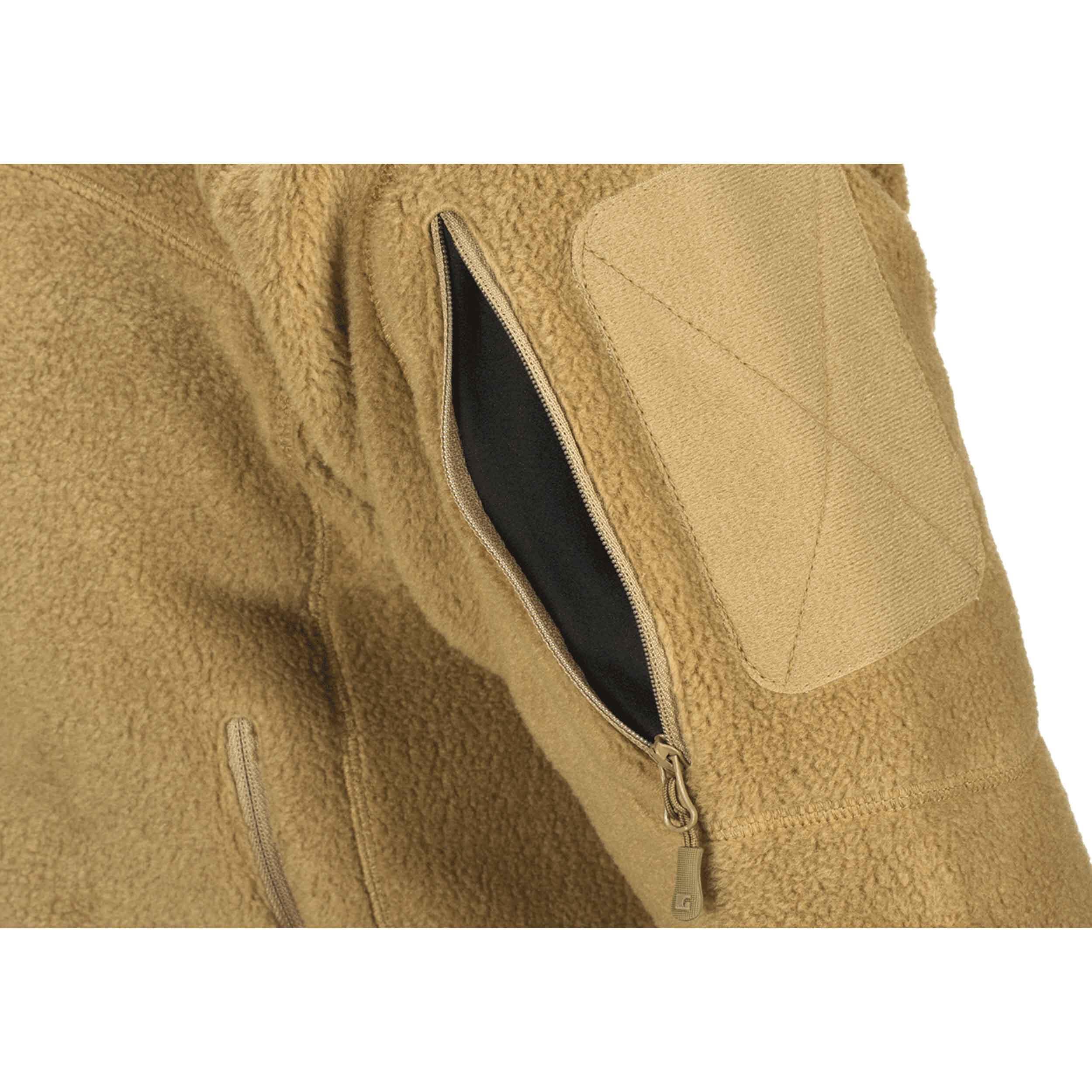 Clawgear Milvago Fleece Jacke Coyote