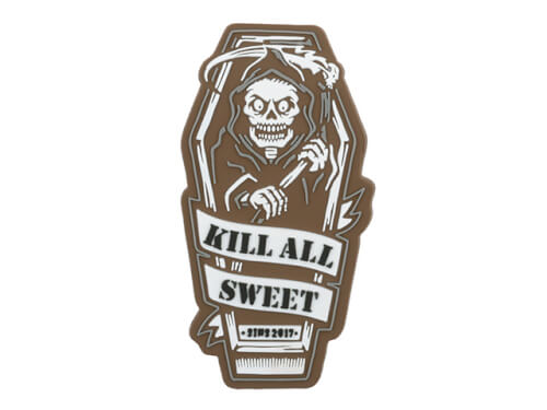 KILL ALL SWEET PVC PATCH - BROWN