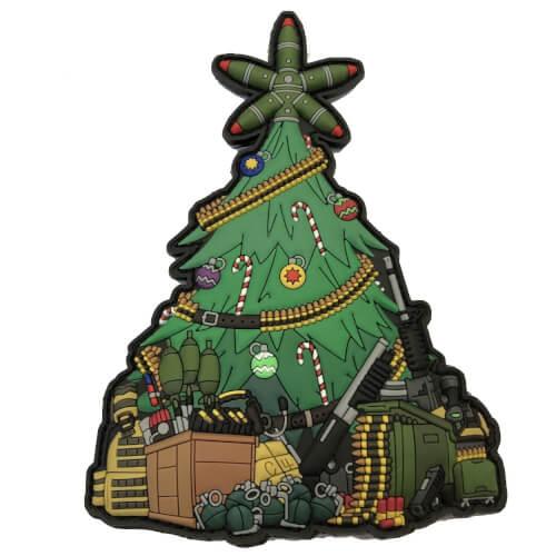 Taktischer Weihnachtsbaum XMAS TREE 2018 PVC PATCH (gb)