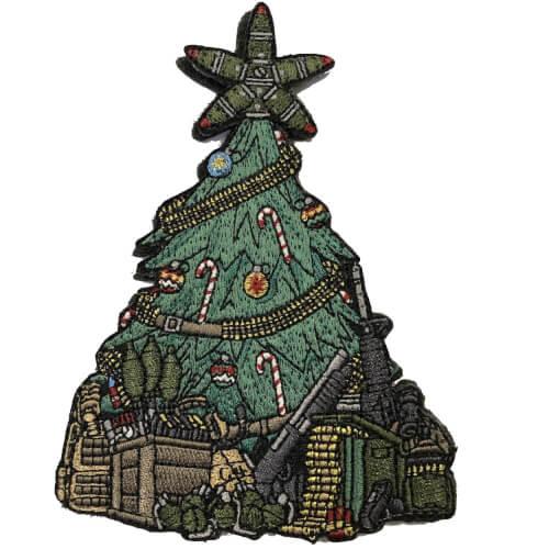 Taktischer Weihnachtsbaum XMAS TREE 2018 EMB PATCH