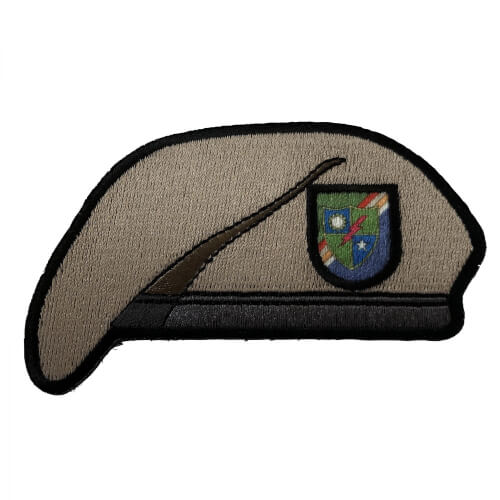 75th Army Ranger Regiment Beret Barett Patch