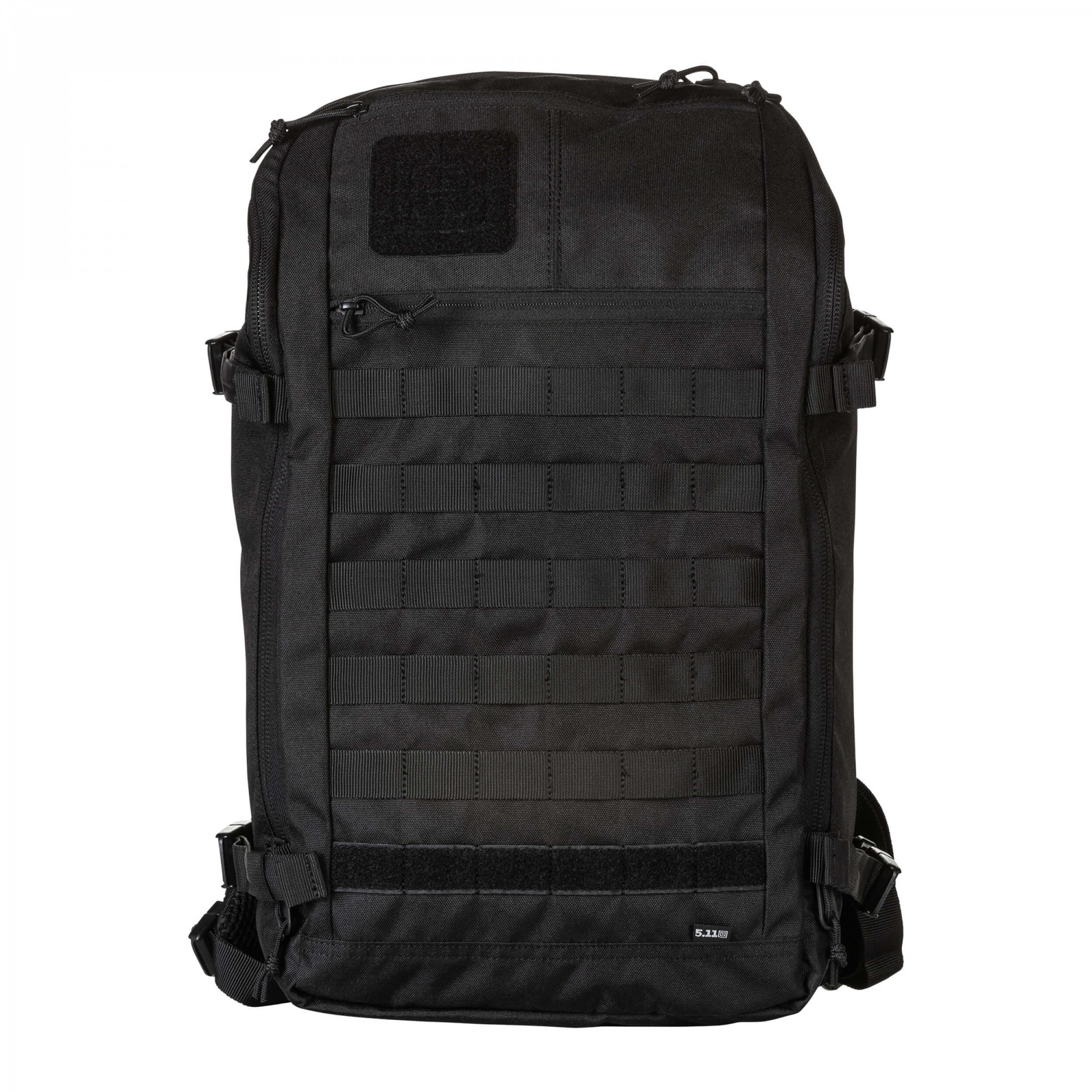 5.11 Tactical Rapid Quad Zip Pack 27L Backpack TRUE BLACK (264) (gb)
