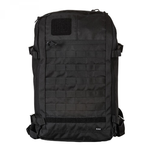 5.11 Tactical Rapid Quad Zip Pack 27L Backpack TRUE BLACK (264) (gb)