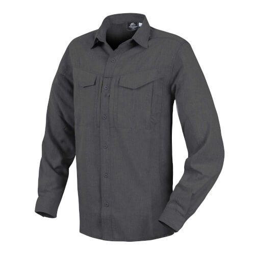 Helikon-Tex Defender Mk2 Gentleman Shirt - Melange Black/Grey