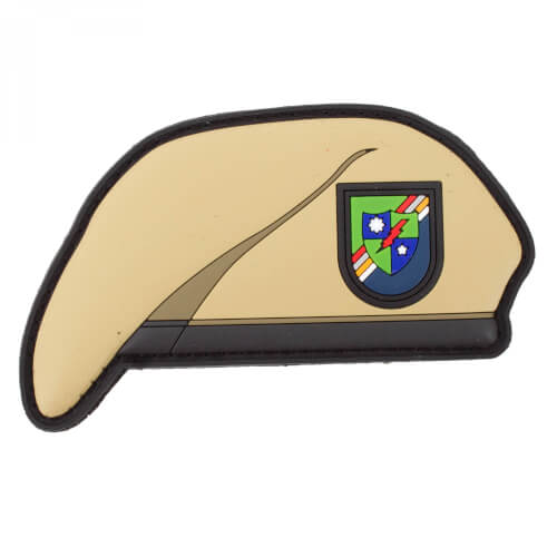 75th Army Ranger Regiment Beret Barett Patch PVC