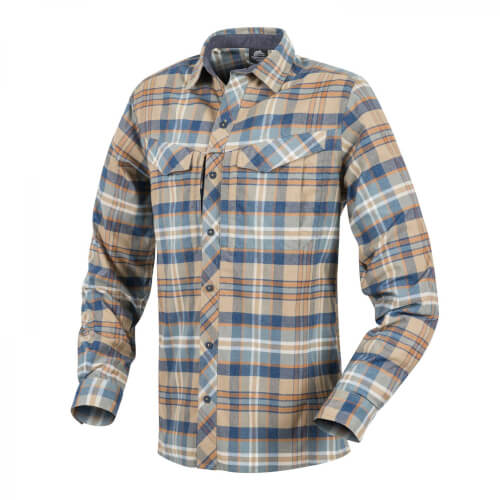 Helikon-Tex Defender Mk2 Pilgrim Long Sleeve Shirt - Ginger Plaid