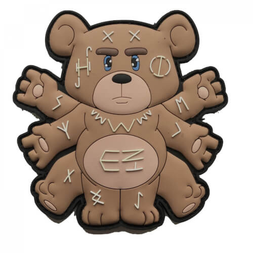 Magic Voodoo Teddy Patch