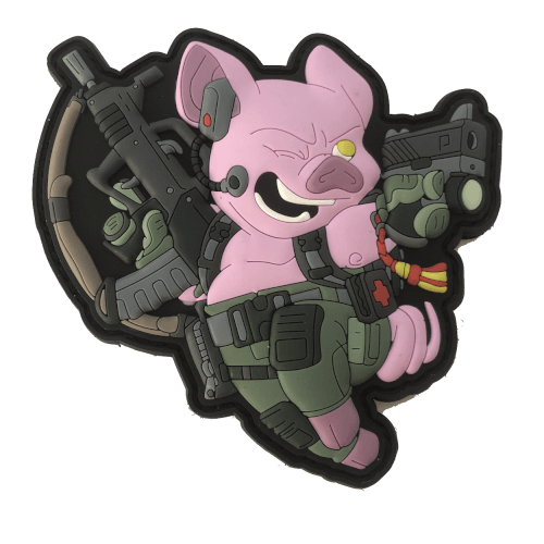Chinese Year of the Pig 2019 Patch Pink