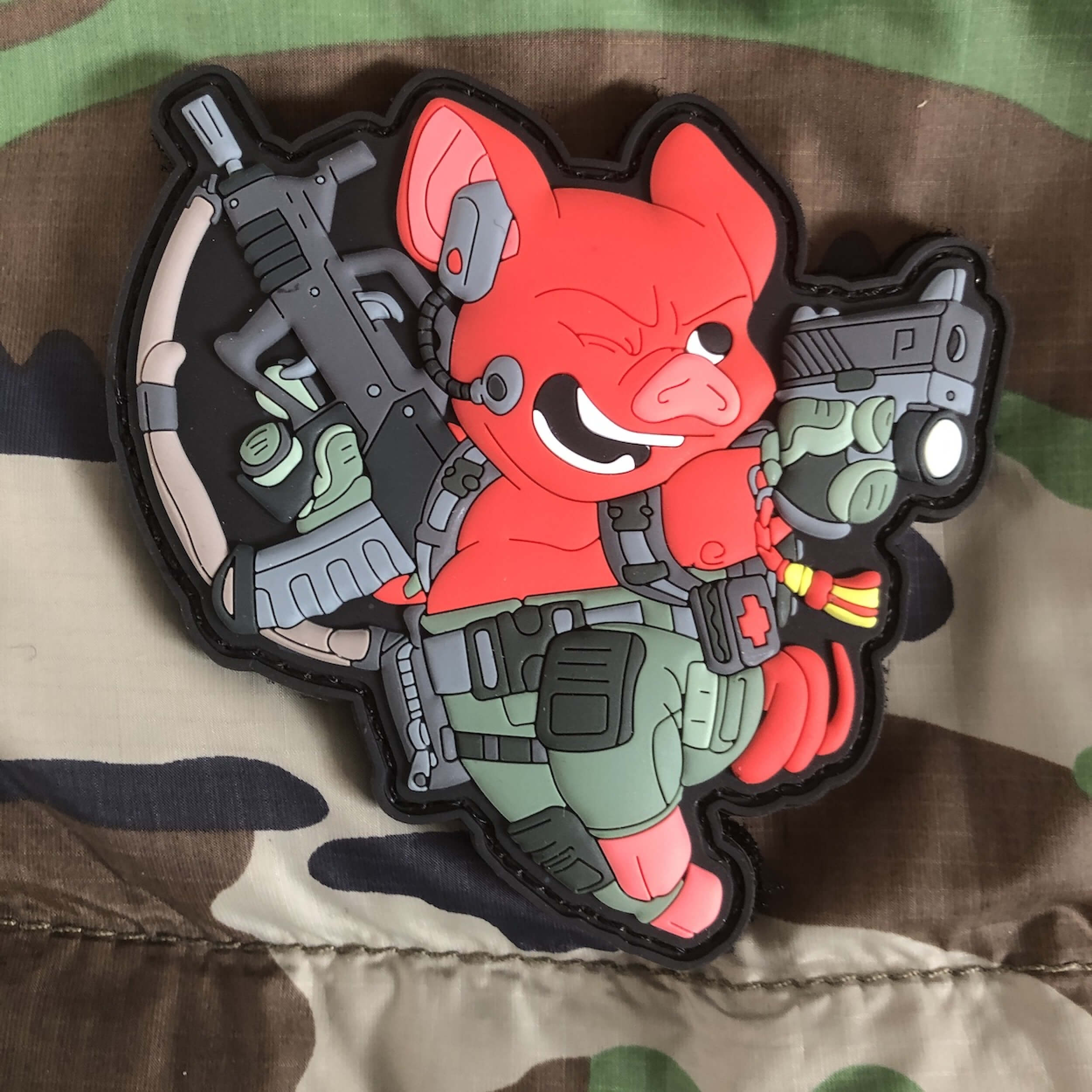 Chinese Year of the Pig 2019 Patch Red (gb)