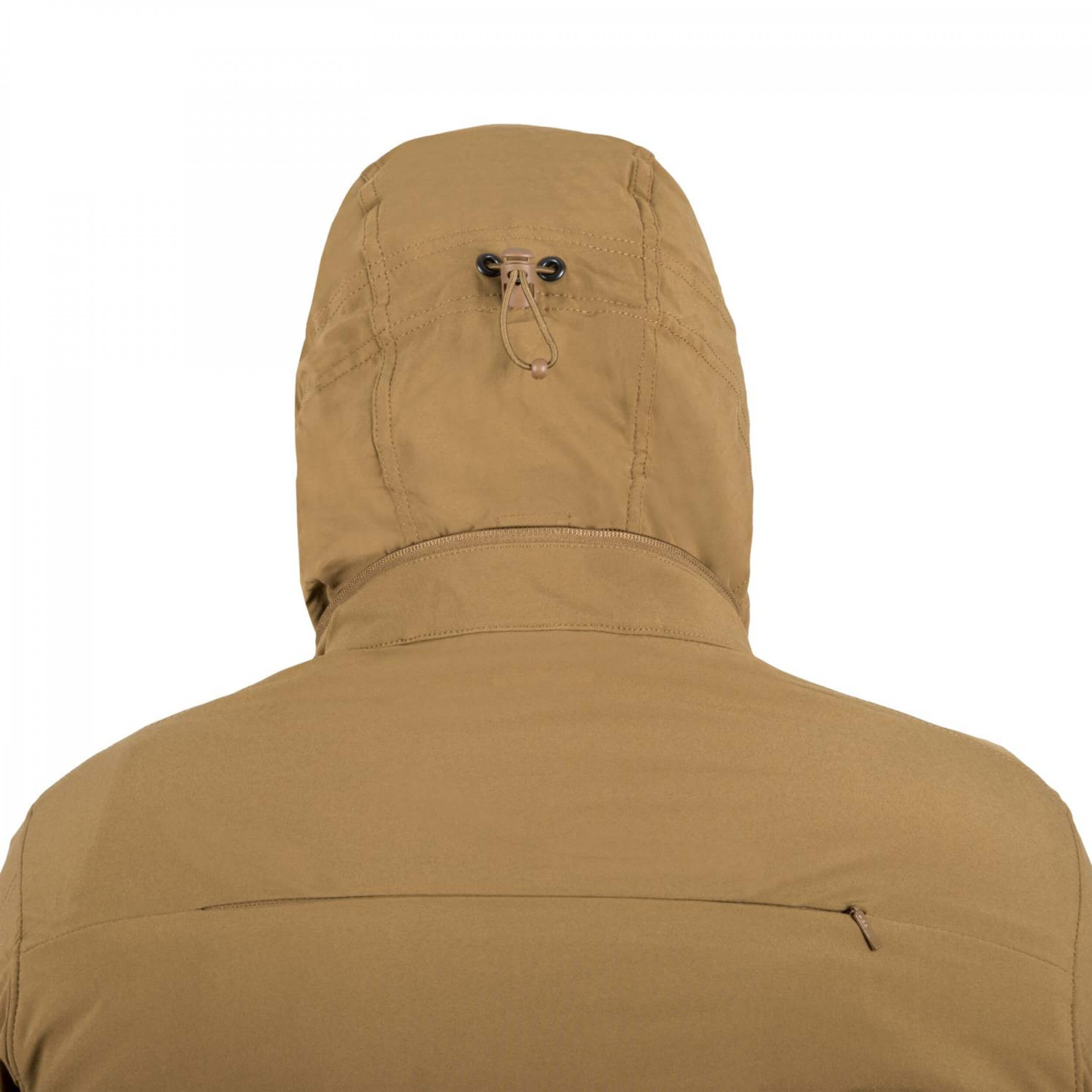 Helikon-Tex Cougar QSA + HID Jacke - Soft Shell Windblocker - Shadow Grey