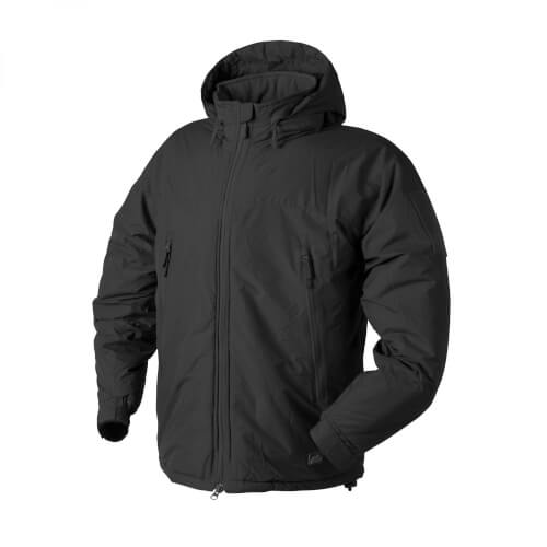 Helikon-Tex LEVEL 7 Lightweight Winter Jacke - Climashield Apex 100g -  Schwarz