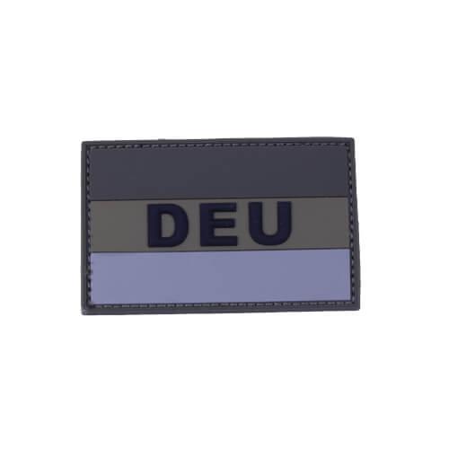 "Mil-Tec BW BW Patch 3D ""DEU"" PVC m. Klett large Oliv"