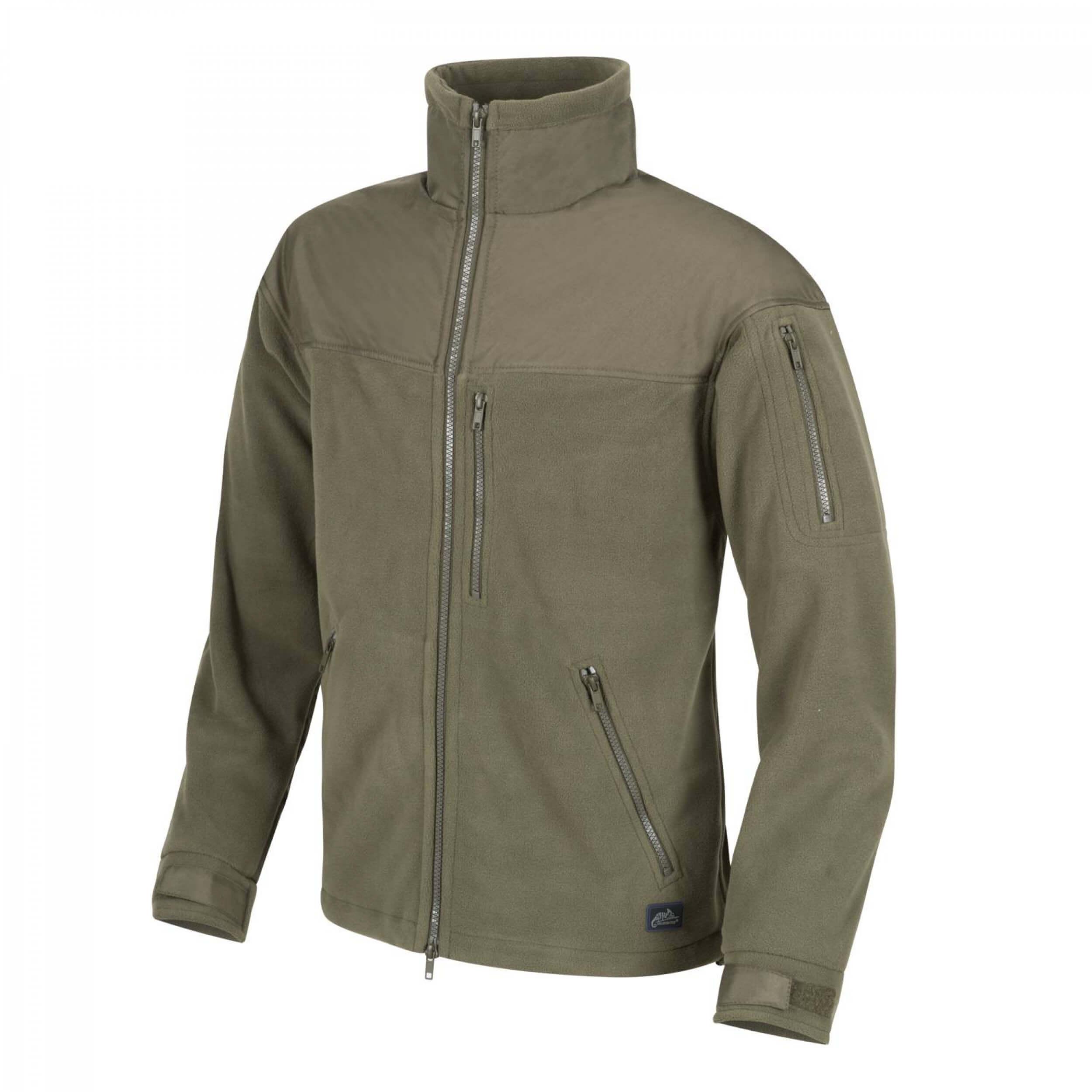 Helikon-Tex Classic Army -Fleece- Jacke Olive Green