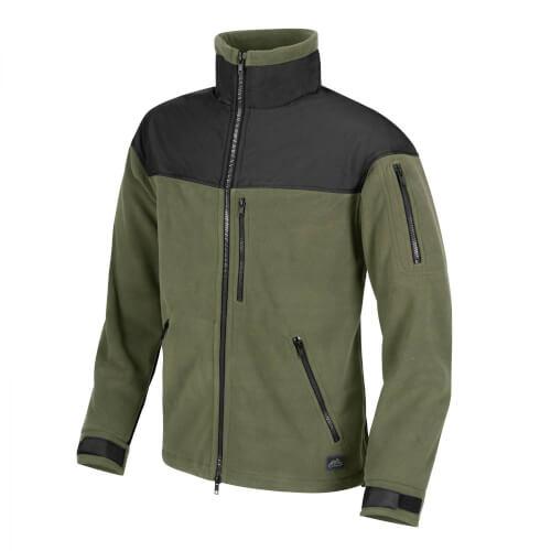 Helikon-Tex Classic Army Jacke -Fleece- Oliv/Schwarz
