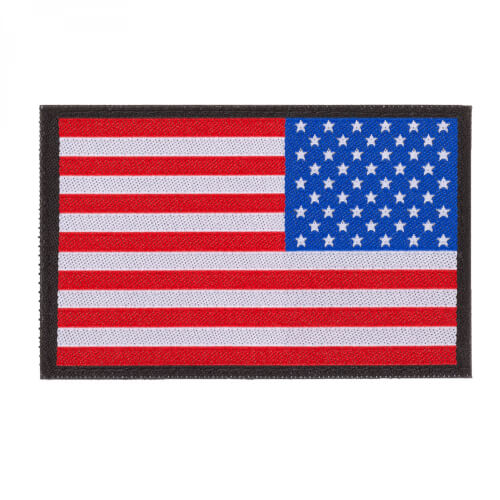 USA REVERSED FLAG PATCH
