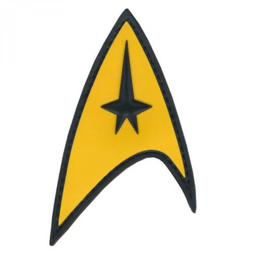 Patch Squad STAR TREK COMMAND STARFLEET UNIFORM 3D Patch PVC