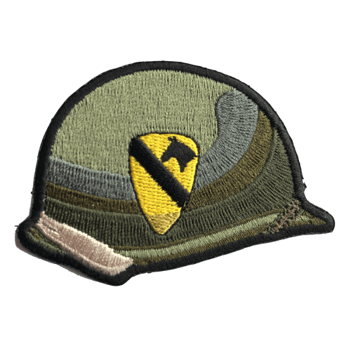 1ST CAVALRY DIVISION HELMET PATCH