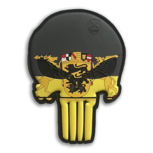 Baden-Württemberg Schädel Skull Patriot Punisher Patch