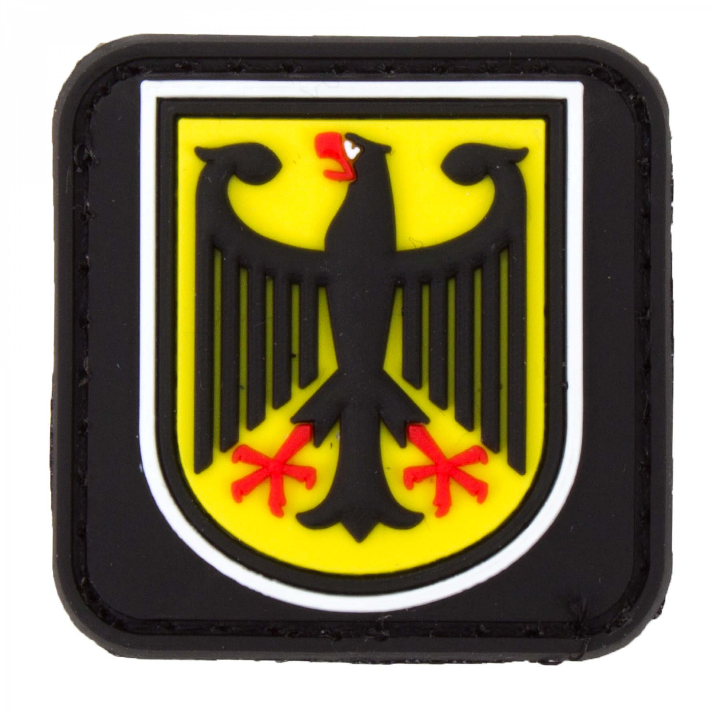 JTG kleiner Bundespolizei Patch, fullcolor / JTG 3D Rubber Patch