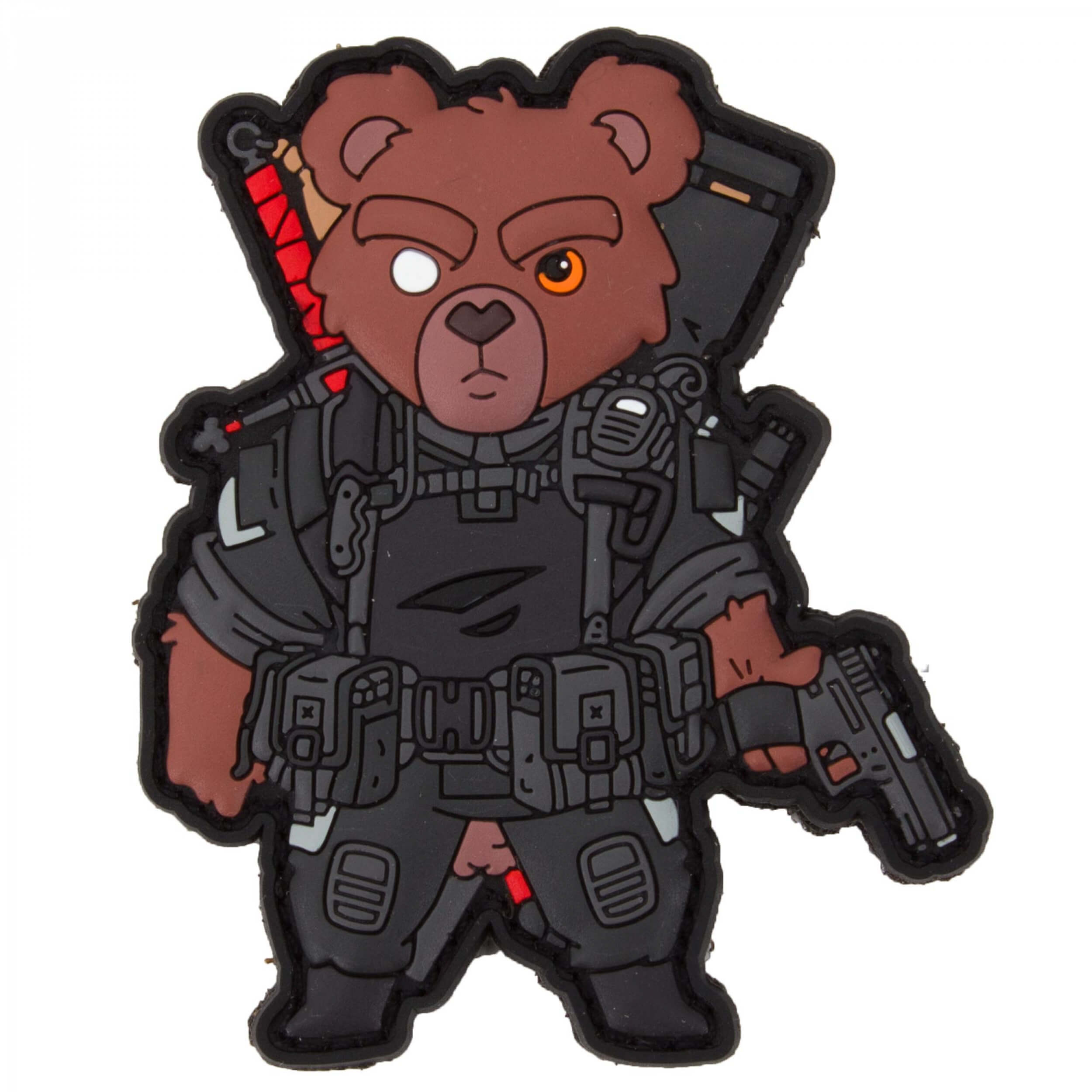 TACTICAL TEDDY PATCH - Belthazor by HIWEZ