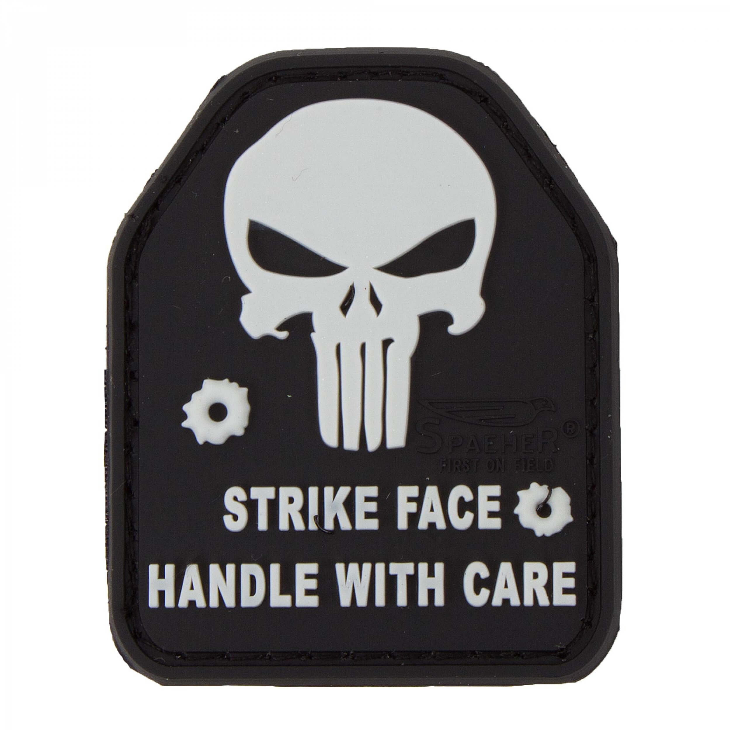 JTG SAPI PLATE Punisher Patch, swat / JTG 3D Rubber Patch