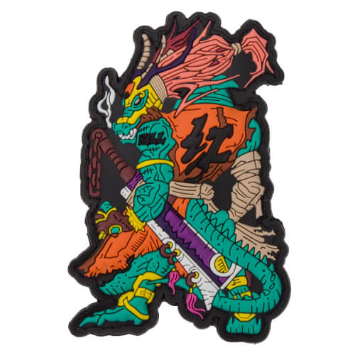 Chinese Zodiac Sign Dragon - PVC Rubber Patch